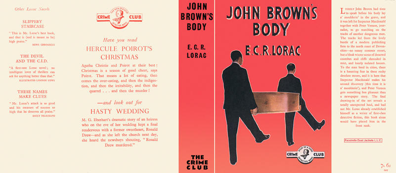John Brown's Body. E. C. R. Lorac