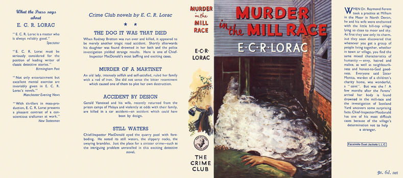 Murder in the Mill Race. E. C. R. Lorac