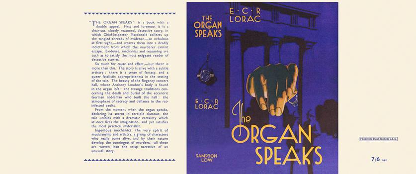 Organ Speaks, The. E. C. R. Lorac
