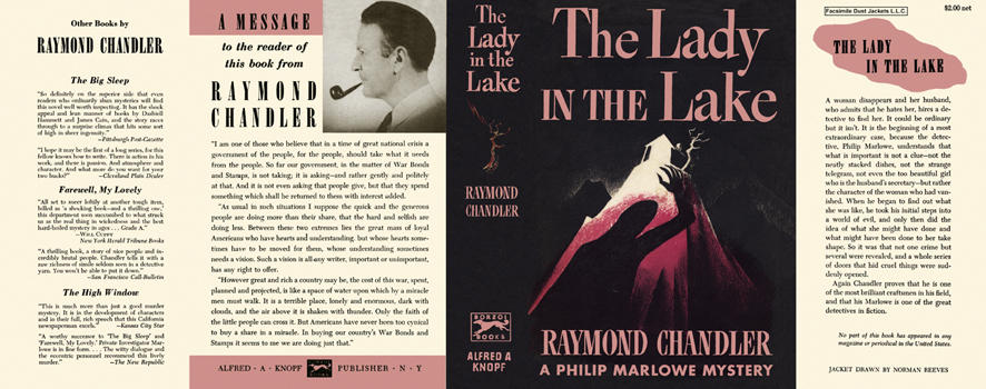 Lady in the Lake, The. Raymond Chandler