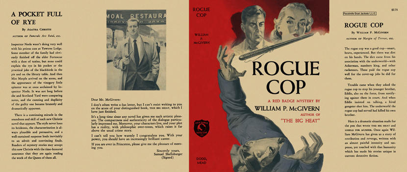 Rogue Cop. William P. McGivern.