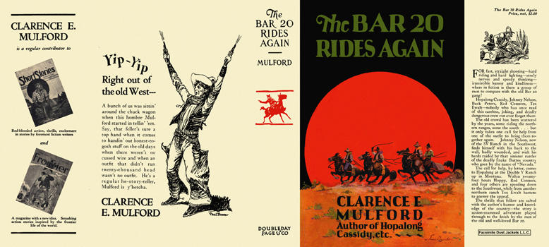 Bar 20 Rides Again, The. Clarence E. Mulford