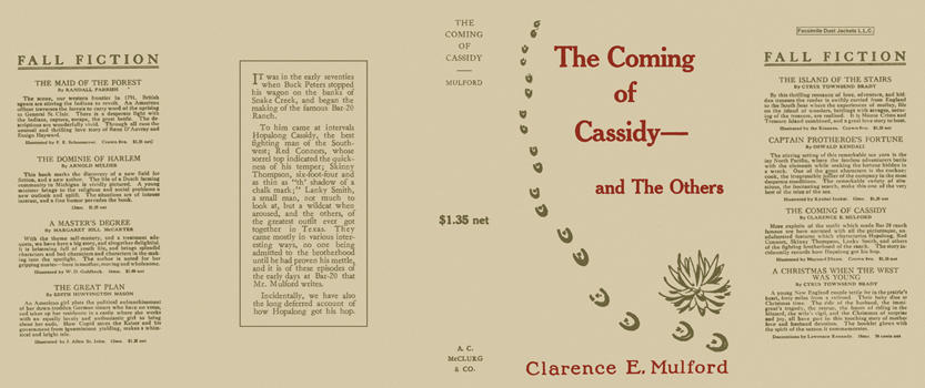Coming of Cassidy and the Others, The. Clarence E. Mulford