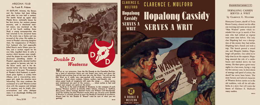 Hopalong Cassidy Serves a Writ. Clarence E. Mulford