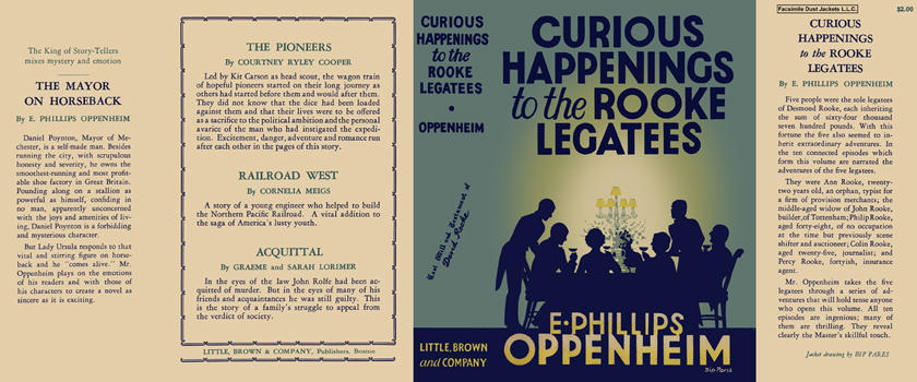 Curious Happenings to the Rooke Legatees. E. Phillips Oppenheim