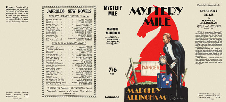 Mystery Mile. Margery Allingham