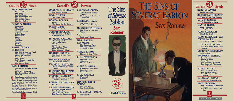 Sins of Severac Bablon, The. Sax Rohmer.
