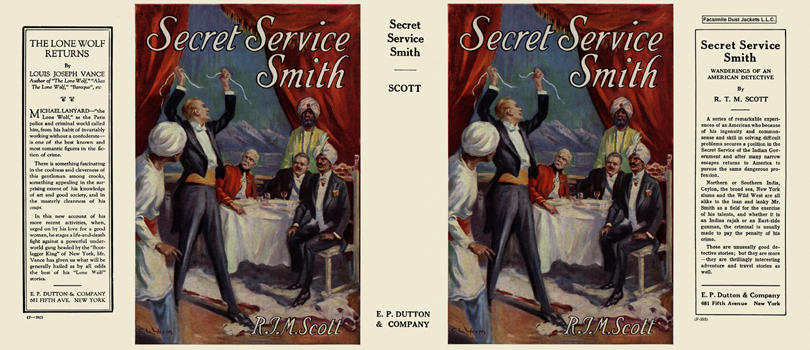 Secret Service Smith. R. T. M. Scott.