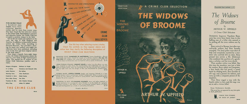 Widows of Broome, The. Arthur W. Upfield.