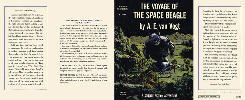 Voyage of the Space Beagle, The. A. E. Van Vogt