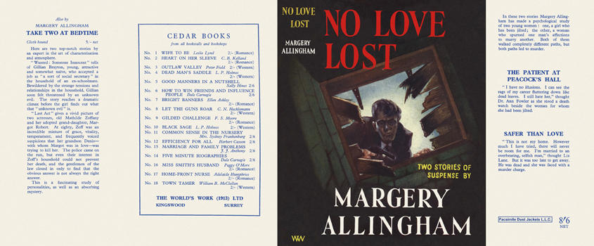 No Love Lost. Margery Allingham