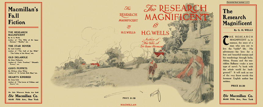 Research Magnificent, The. H. G. Wells