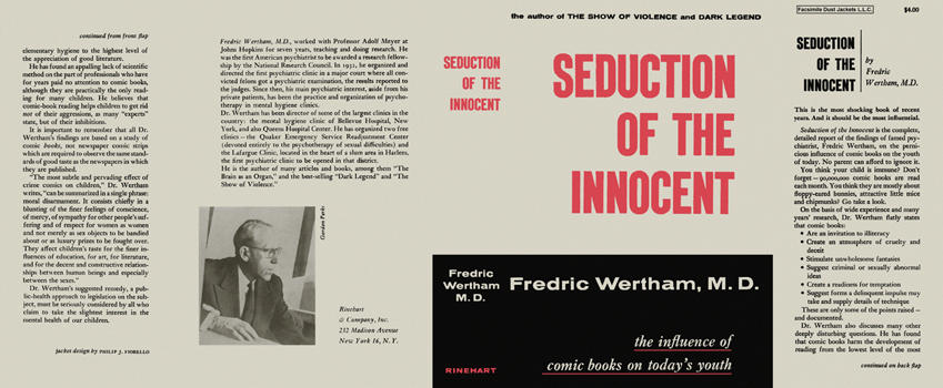 Image result for seduction of the innocent wertham