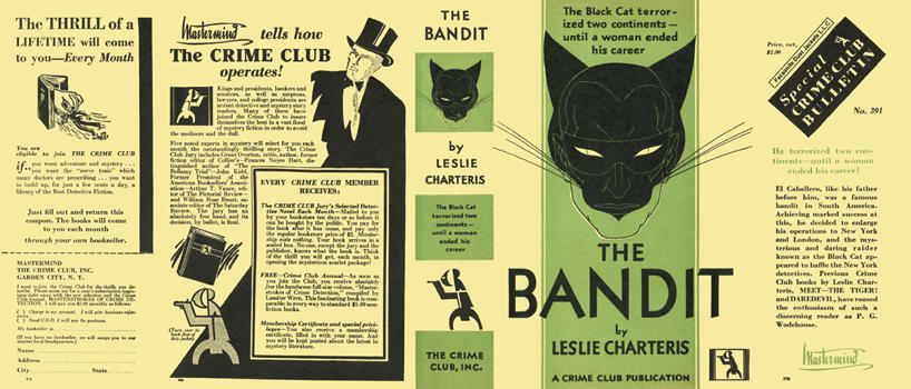 Bandit, The. Leslie Charteris.