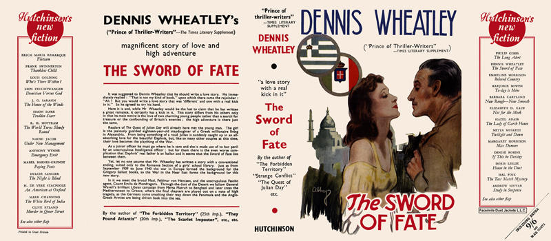 Sword of Fate, The. Dennis Wheatley
