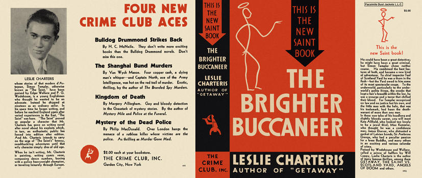 Brighter Buccaneer, The. Leslie Charteris.