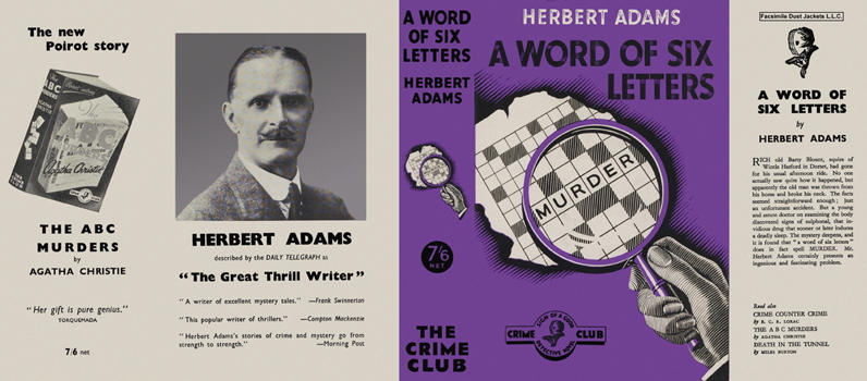 Word of Six Letters, A. Herbert Adams