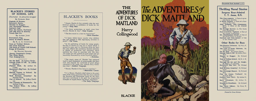 Adventures of Dick Maitland, The. Harry Collingwood