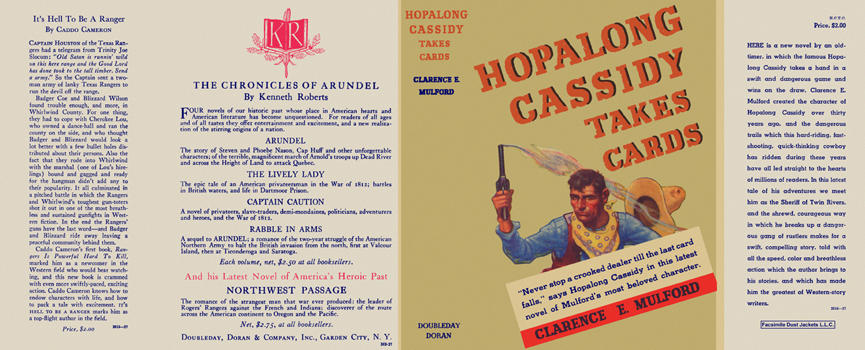 Hopalong Cassidy Takes Cards. Clarence E. Mulford