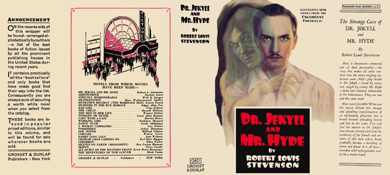 Dr. Jekyll and Mr. Hyde. Robert Louis Stevenson