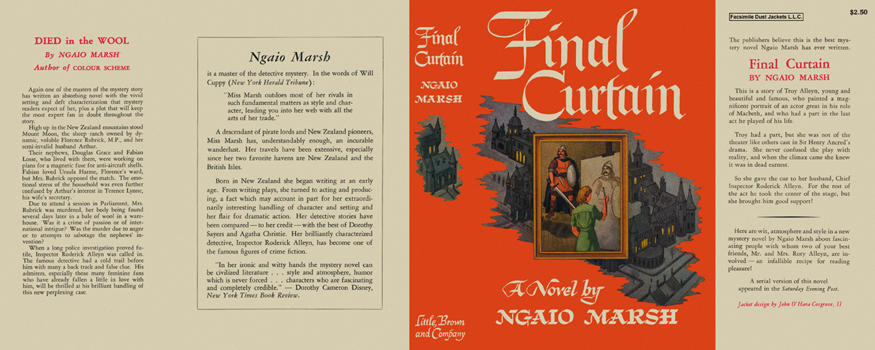 Final Curtain. Ngaio Marsh.