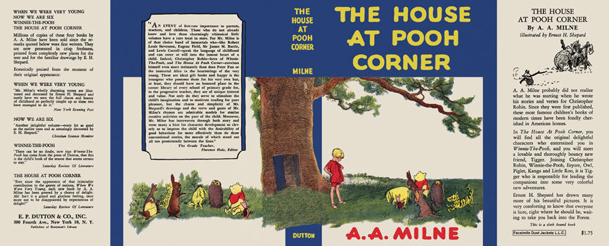 House at Pooh Corner, The. A. A. Milne, E. H. Shepard.