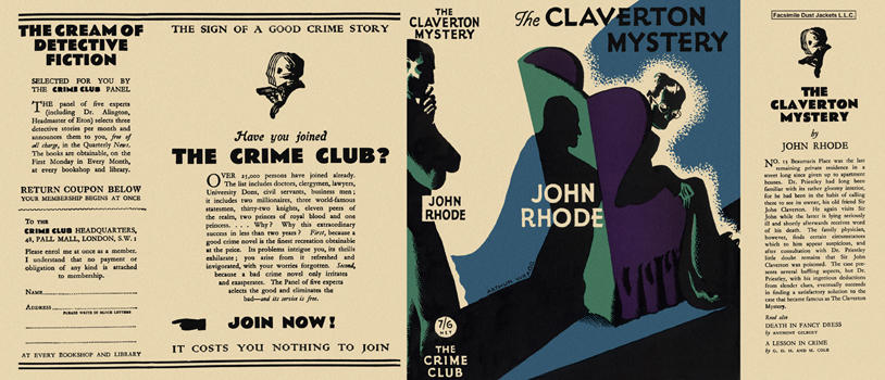 Claverton Mystery, The. John Rhode