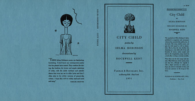 City Child. Selma Robinson.