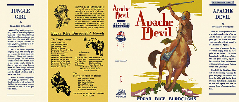 Apache Devil. Edgar Rice Burroughs.