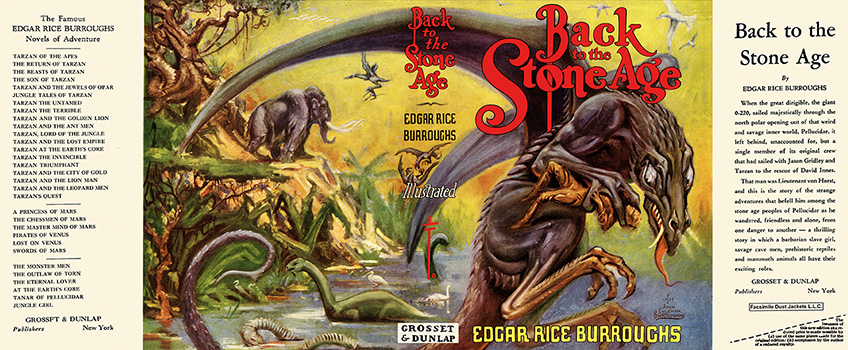 Back to the Stone Age. Edgar Rice Burroughs.