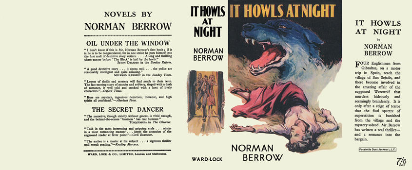 It Howls at Night. Norman Berrow