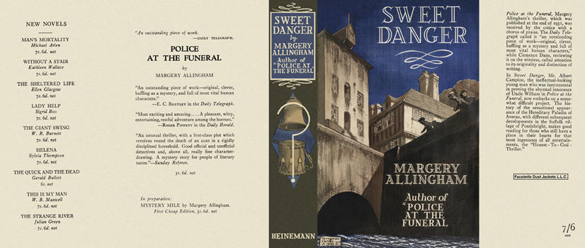 Sweet Danger. Margery Allingham