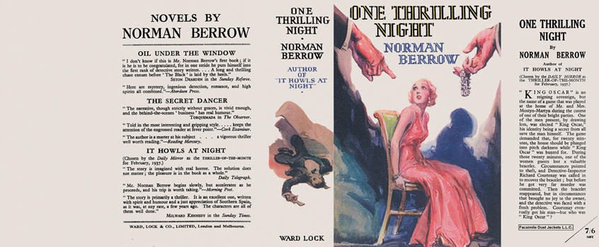 One Thrilling Night. Norman Berrow