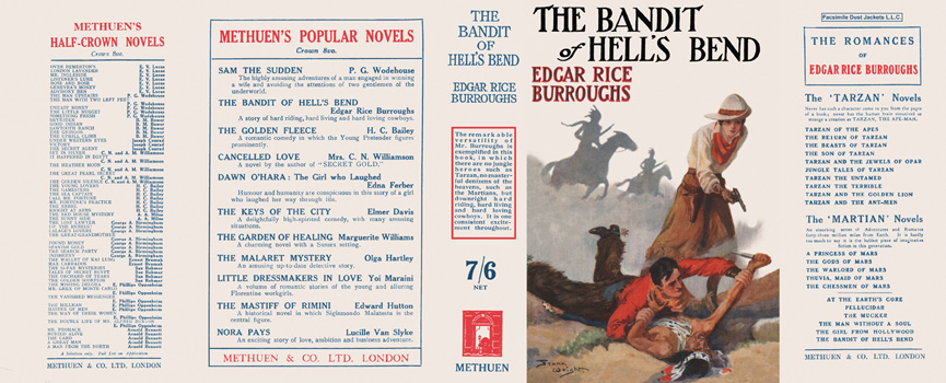 Bandit of Hell's Bend, The. Edgar Rice Burroughs