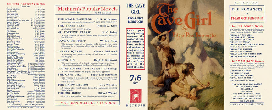 Cave Girl, The. Edgar Rice Burroughs