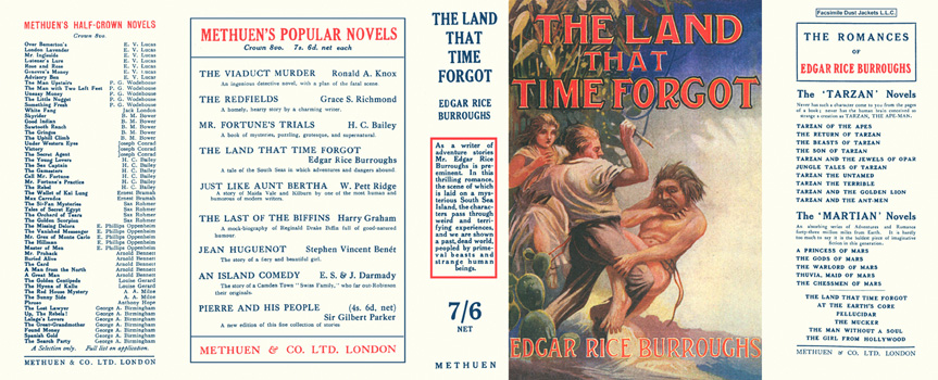 Land That Time Forgot, The. Edgar Rice Burroughs.