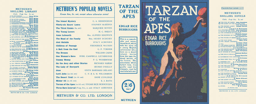 Tarzan of the Apes. Edgar Rice Burroughs.