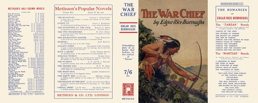 War Chief, The. Edgar Rice Burroughs