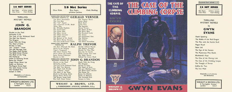 Case of the Climbing Corpse, The. Gwyn Evans