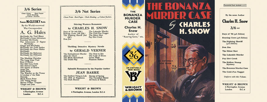 Bonanza Murder Case, The. Charles H. Snow