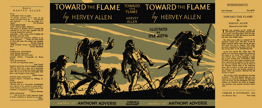 Toward the Flame. Hervey Allen, Lyle Justis