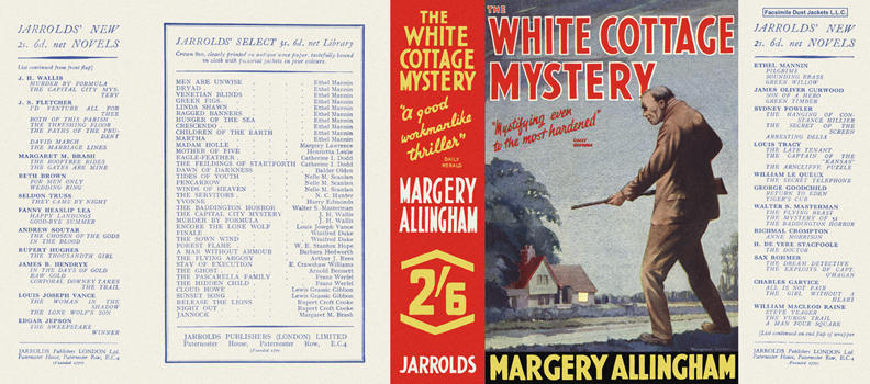 White Cottage Mystery, The. Margery Allingham.