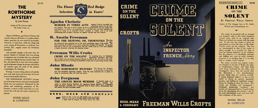 Crime on the Solent. Freeman Wills Crofts