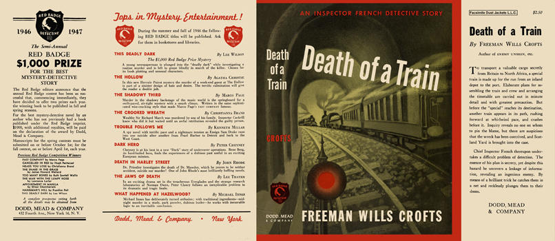 Death of a Train. Freeman Wills Crofts