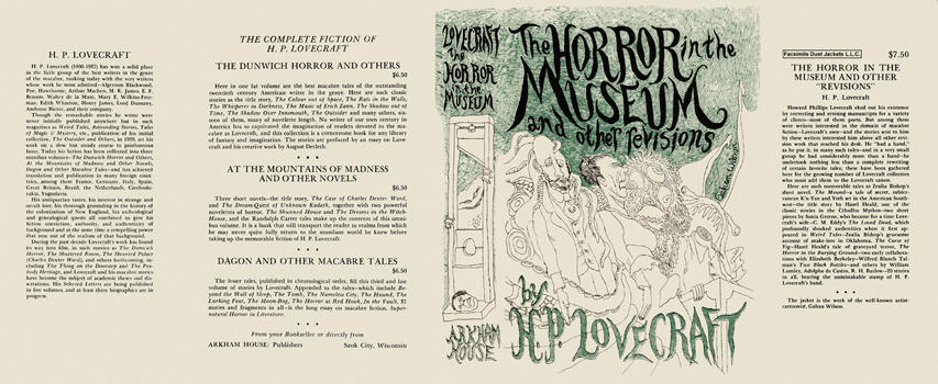 Horror in the Museum and Other Revisions, The. H. P. Lovecraft