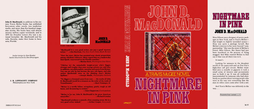 Nightmare in Pink. John D. MacDonald.