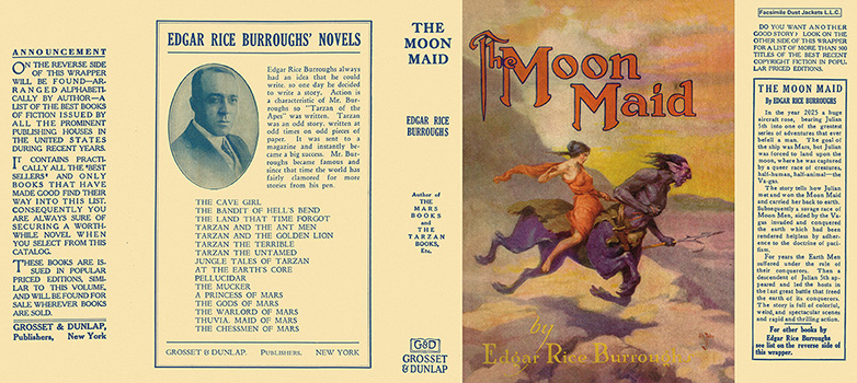 Moon Maid, The. Edgar Rice Burroughs