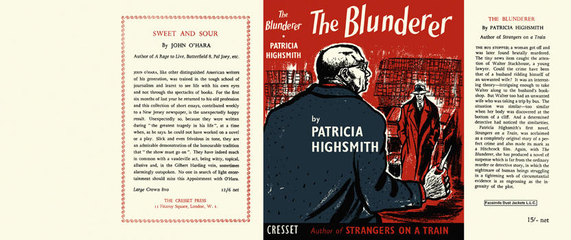 Blunderer, The. Patricia Highsmith