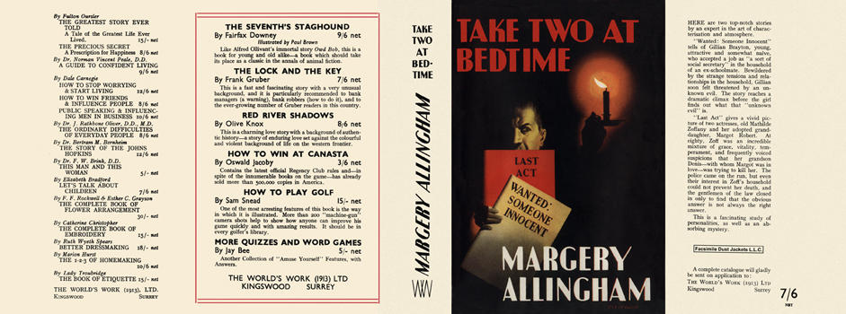 Take Two at Bedtime. Margery Allingham