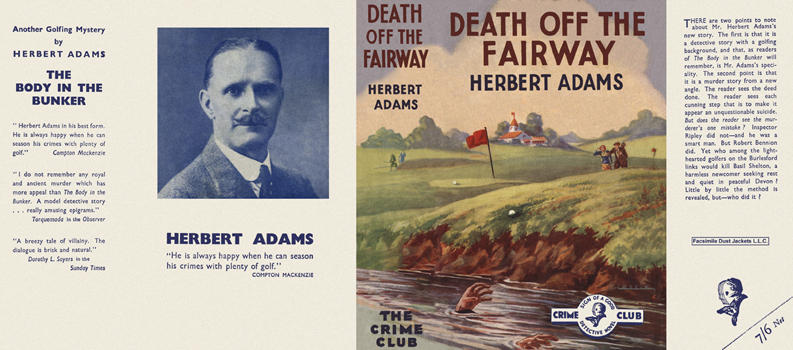 Death off the Fairway. Herbert Adams.